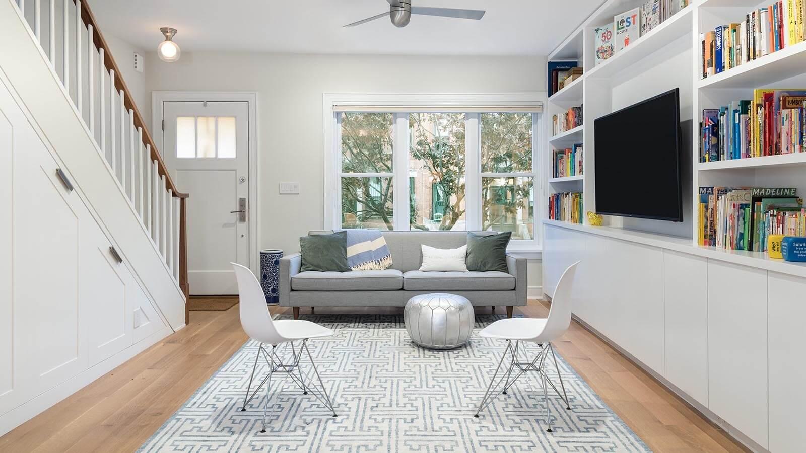 Interior Design Ideas: Petite Brooklyn House Gains Light, Storage ...