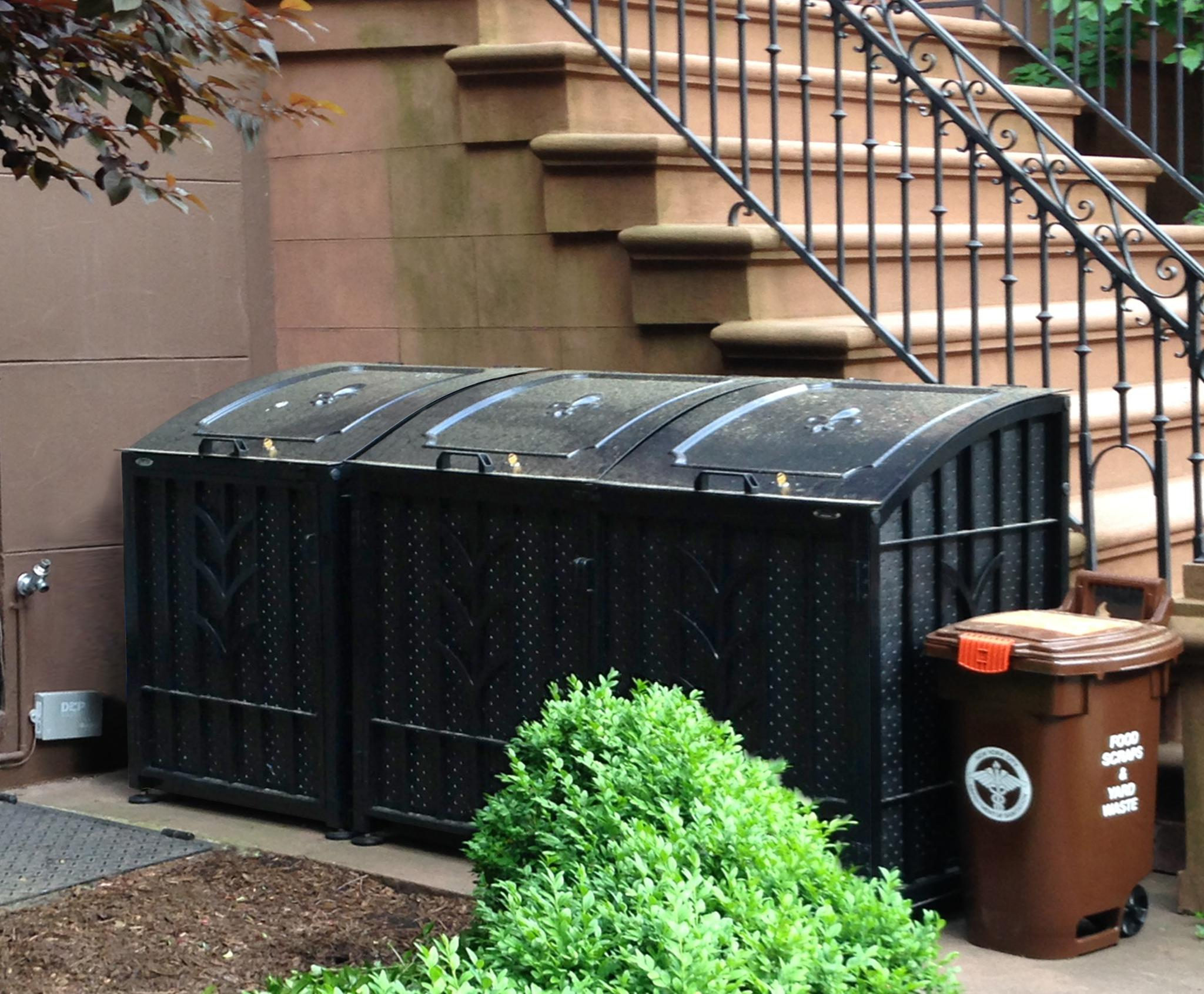 Outdoor Garbage Bins: Ideas for Urban Front Yards | Brownstoner